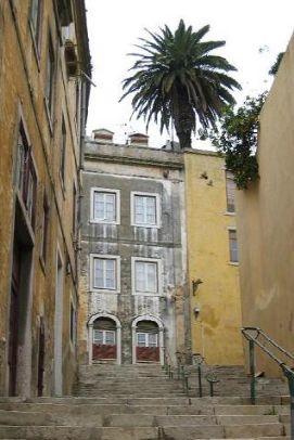 Stairs, Pena, Lisbon